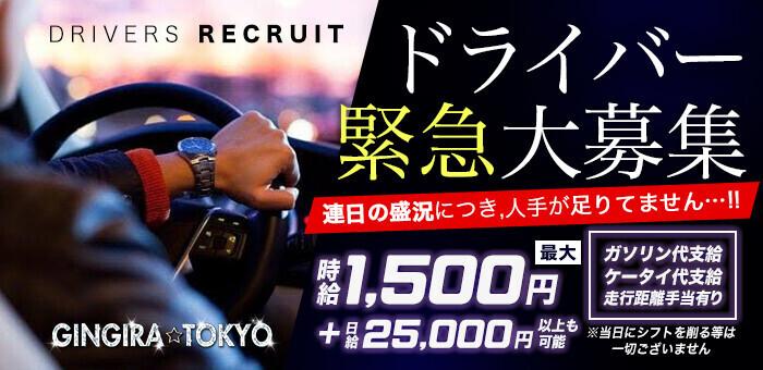 GINGIRA TOKYO~ギンギラ東京 送迎ドライバー求人