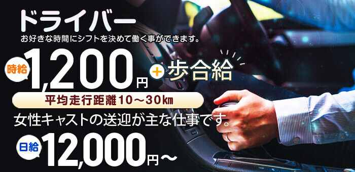 しろうと娘グループ東京の風俗送迎ドライバー求人・運転手バイト募集