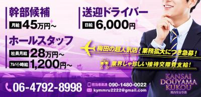 関西堂山空港の男性求人