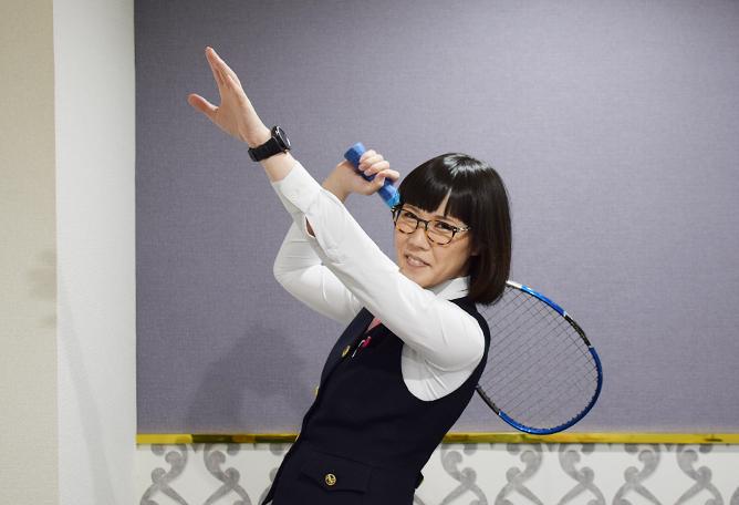 ソフトテニス愛が強すぎて風俗業界へ? ソフトテニスの為に学校も会社も辞めた万能ニューハーフ店長